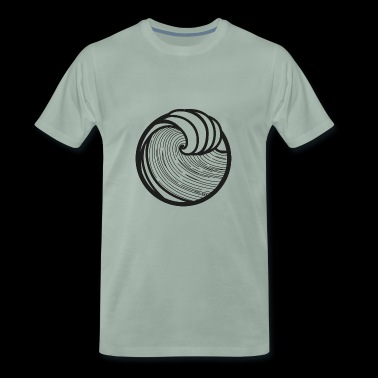 WAVES + SUN #4 - Männer Premium T-Shirt