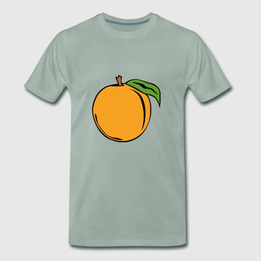 Nectarines pêche pêches nectarines fruits obst1 - T-shirt Premium Homme