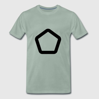 SHAPES SHAPES CLEAN - Premium-T-shirt herr