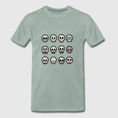 pirate ship boat pirate pirate ship ship skull9 - Men's Premium T-Shirt