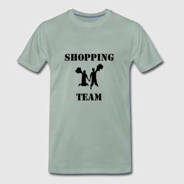 Shopping-team - Mannen Premium T-shirt