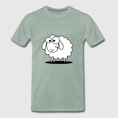 sheep, sheep, - Men's Premium T-Shirt