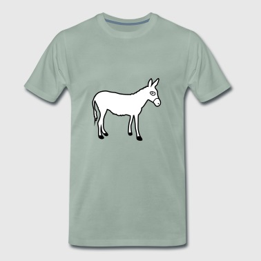 Donkey | Horse riding Bauernhof Muli Horseback riding stable - Men's Premium T-Shirt