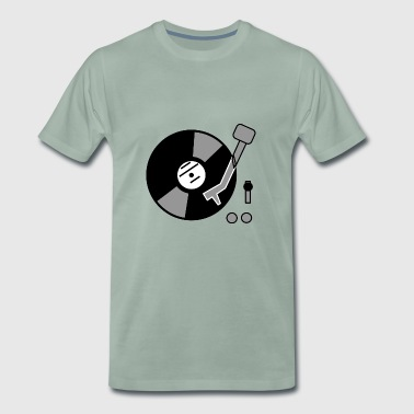 vinyl record - Men's Premium T-Shirt