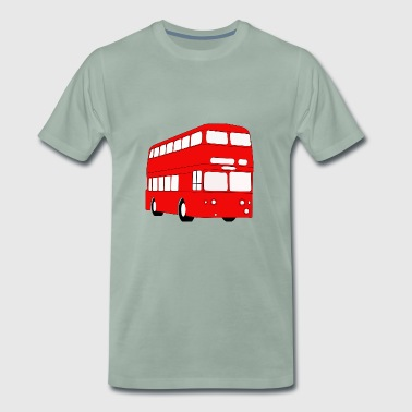 Double Decker Red Bus - Men's Premium T-Shirt