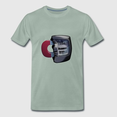 Electricity meter - electrical engineering - Men's Premium T-Shirt