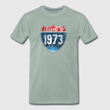 Legend Of 1973 - T-shirt Premium Homme