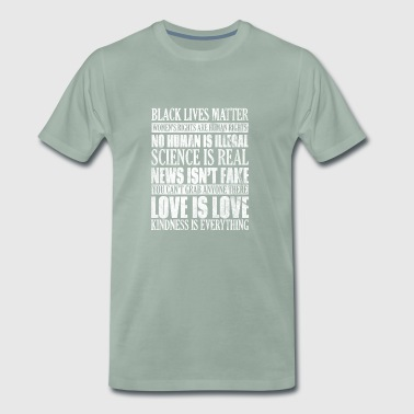 Shirt for human rights - tolerance for people - Men's Premium T-Shirt