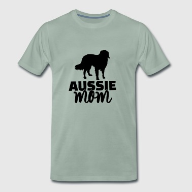 Aussie mom - Men's Premium T-Shirt