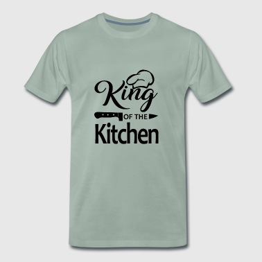Chef Cooking Gift Gastronomy Gastro Grilling - Men's Premium T-Shirt