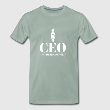 Chef - CEO - Mum - Mother's Day - Gift - Funny - Men's Premium T-Shirt