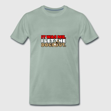 it was me - Männer Premium T-Shirt