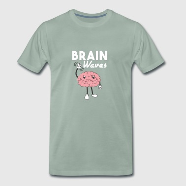 Brain Waves Shirt - Gift - Men's Premium T-Shirt