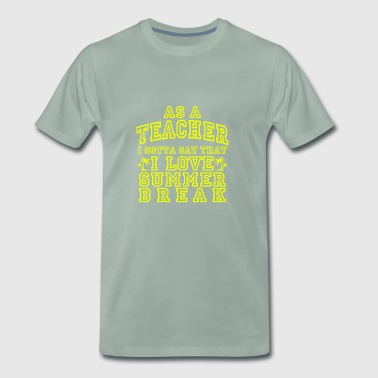 Teacher Lehramt Lehramtstudio Gift School - Men's Premium T-Shirt