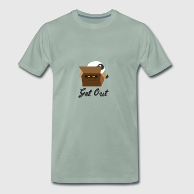 Cat in the carton - Men's Premium T-Shirt
