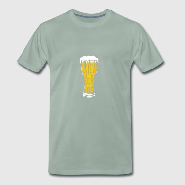 Beer beer drinker gift - Men's Premium T-Shirt