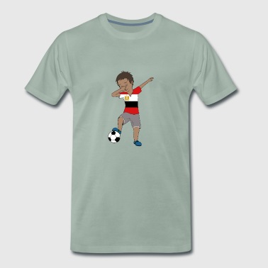 Egypt Soccer Team Flag Football Match - Premium T-skjorte for menn
