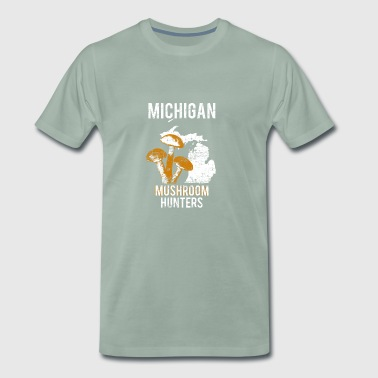 Paddestoelenjacht in Michigan - Mannen Premium T-shirt