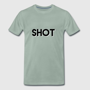 shot 3d text - Men's Premium T-Shirt