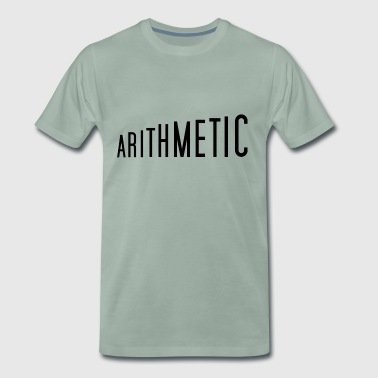 Arithmetic math design t-shirt pullover top - Men's Premium T-Shirt