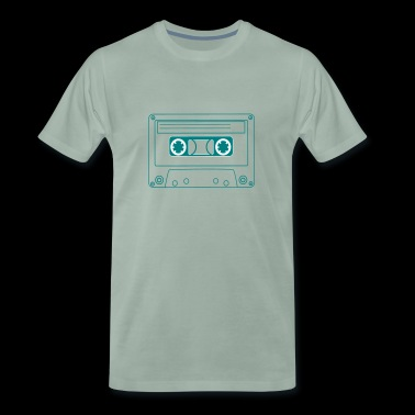 Oldschool Hip Hop cassette - Men's Premium T-Shirt