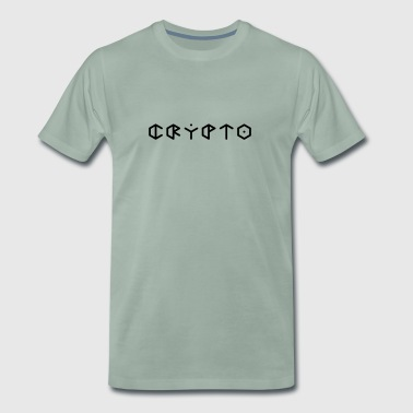 Crypto Crypto Currency - Mannen Premium T-shirt