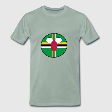 Countryball Land Heimat Dominica - Männer Premium T-Shirt