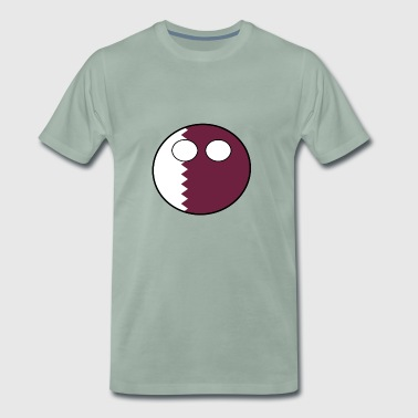 Countryball Country Home Qatar - Men's Premium T-Shirt