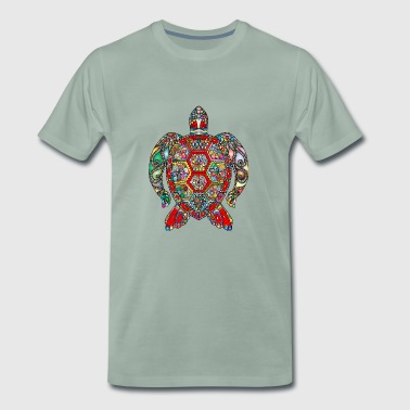 Sea Turtle Hindi - Männer Premium T-Shirt