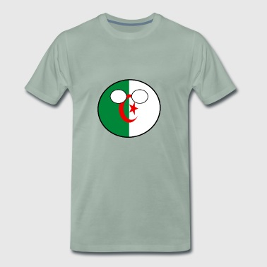 Countryball Country Ball Country Home Algeria - Men's Premium T-Shirt