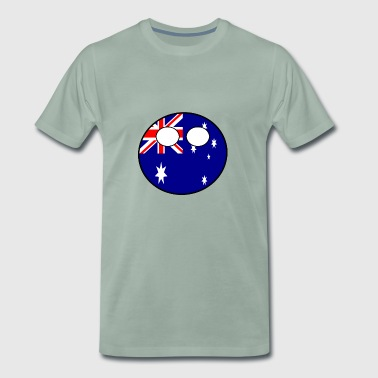 Countryball Country Ball Country Home Australia - Men's Premium T-Shirt
