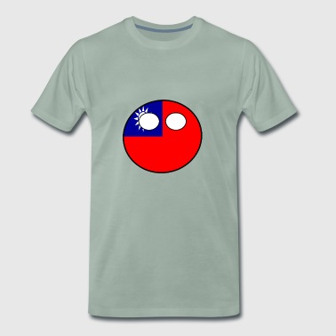 Countryball country home Taiwan - Men's Premium T-Shirt