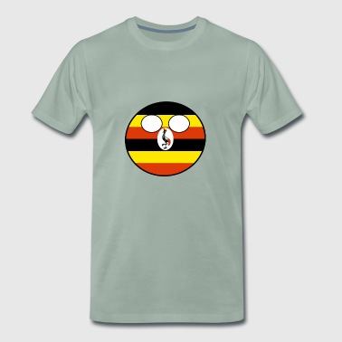 Countryball Country Home Uganda - Men's Premium T-Shirt