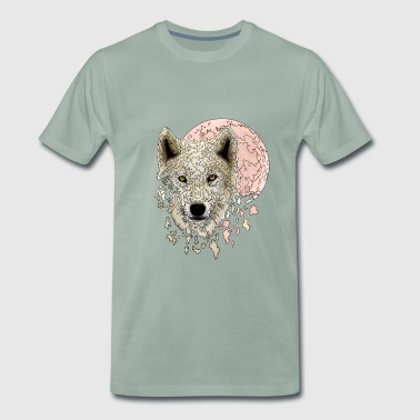 Wolf white - Men's Premium T-Shirt