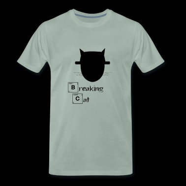 Breaking Cat - Mannen Premium T-shirt
