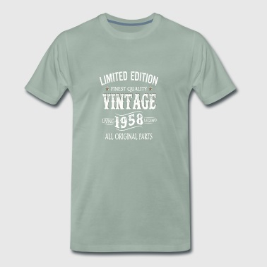 Limited Edition Made In 1958 Vintage Original - Men's Premium T-Shirt