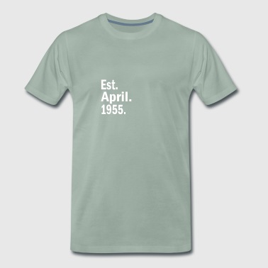 Est April 1955 - Men's Premium T-Shirt