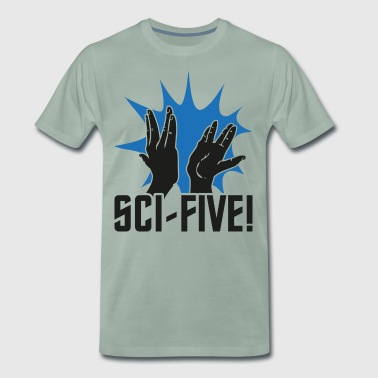 Sci Five - Mr S (donker) - Mannen Premium T-shirt