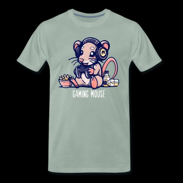 Gaming Mouse - Mannen Premium T-shirt