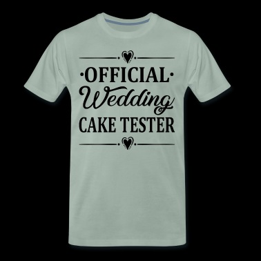 Offical Wedding Cake Tester - Men's Premium T-Shirt