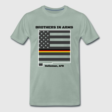 Brothers in Arms tyska flygvapnet i New Mexico - Premium-T-shirt herr