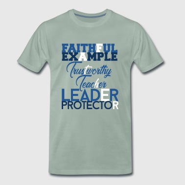 Father Description Gift - Men's Premium T-Shirt