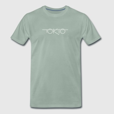 Tokyo feelings travel holiday party quote gift - Men's Premium T-Shirt