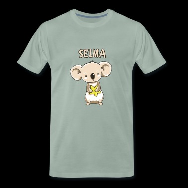 Koala funny child Selma gift birthday copy - Men's Premium T-Shirt