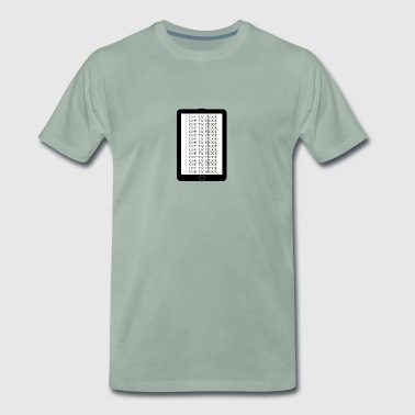 E-Book-Reader - Männer Premium T-Shirt