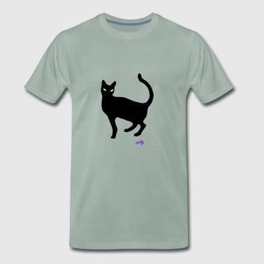 monitoring cat - Men's Premium T-Shirt