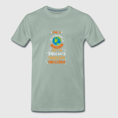 I'm Basically A Majestic Unicorn Gift - Men's Premium T-Shirt