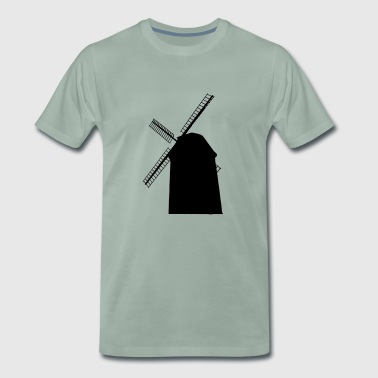 windmill - Men's Premium T-Shirt