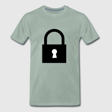 lock - Men's Premium T-Shirt