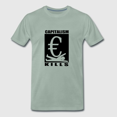 capitalism - Men's Premium T-Shirt